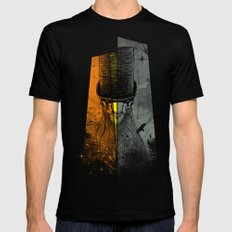 Preacher Man Mens Fitted Tee LARGE Black