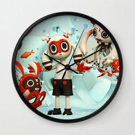 Walter's Imaginarium Wall Clock