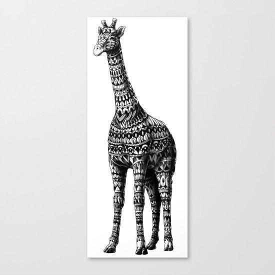 Ornate Giraffe Canvas Print