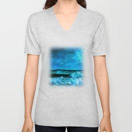 Amazing Nature - Ocean Unisex V-Neck
