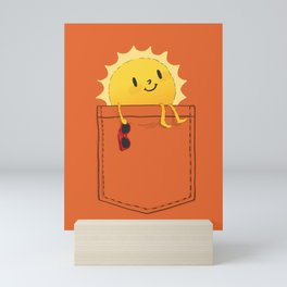 Pocketful of sunshine Mini Art Print