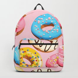 Donuts Pink Modern Decor Contemporary Modern Décor Backpack