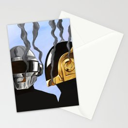 Daft Punk Deux Stationery Cards