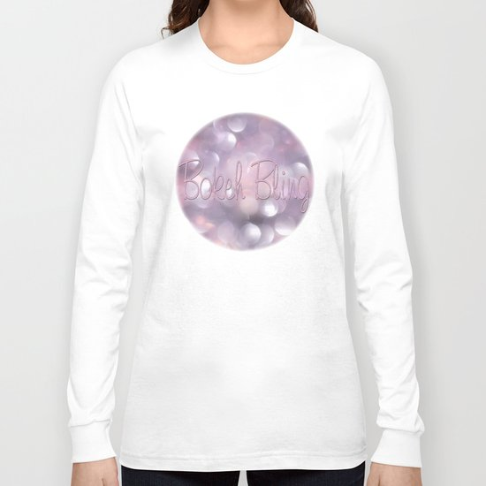 Bokeh Bling... Long Sleeve T-shirt