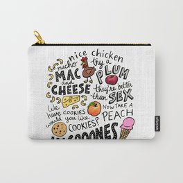 Gilmore Girls Food Quotes Carry-All Pouch