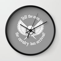 warhammer Wall Clocks featuring Imperial Guard white, Warhammer 40K by ZsaMo Design