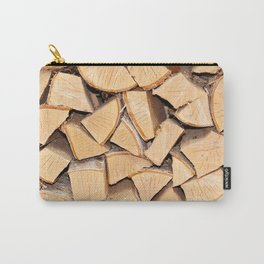 Stack of firewood Carry-All Pouch