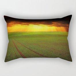 Late Summer New England Sunset Rectangular Pillow