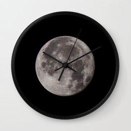 Full Moon 04/11/17 Wall Clock