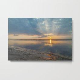 Chatham Lighthouse Beach Sunrise Metal Print