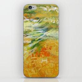 Yellow I iPhone Skin