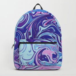 Abstract Colourful Twists Backpack