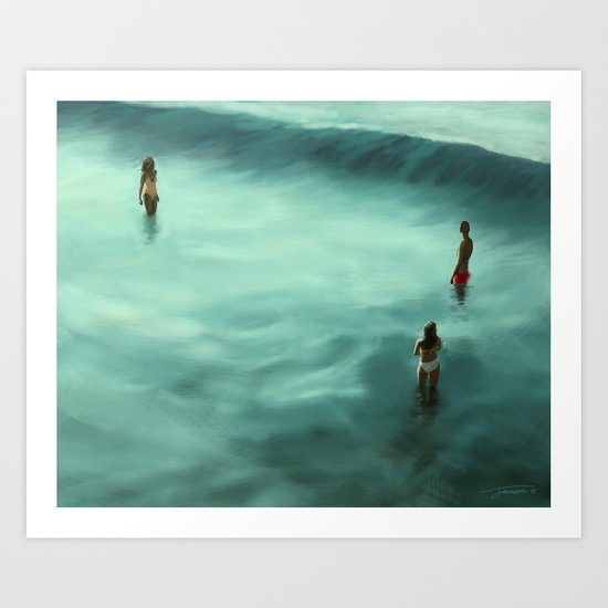 Low Tide - 2015 Art Print