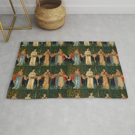 """William Morris, John Henry Dearle """"The Orchard"""" Rug"""