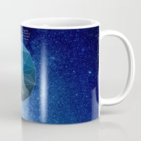 physics Mugs featuring Continuum Space by yuvalaltman