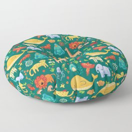 Animals Floor Pillow