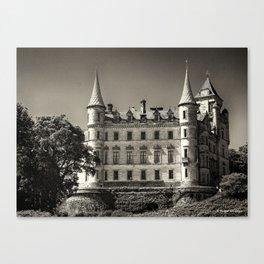 Dunrobin Castle Scotland Canvas Print