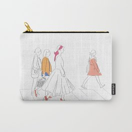 Parisian French Fashion Girls Carry-All Pouch