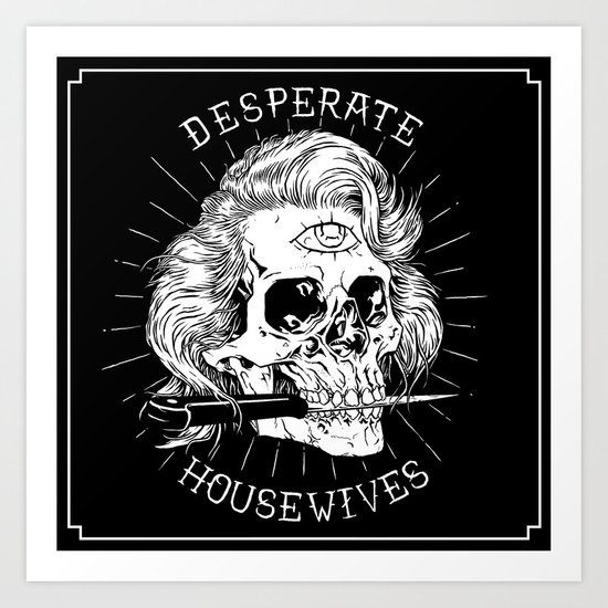 Desperate Housewives Art Print
