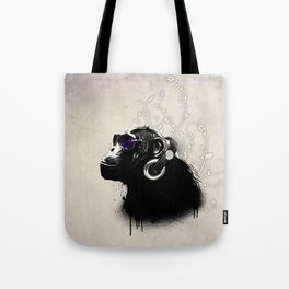 Monkey Tripping Tote Bag