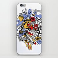 random iPhone & iPod Skins featuring Random by waldy chavez