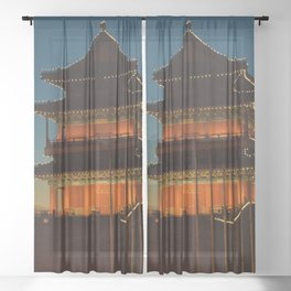 Qianmen Sheer Curtain