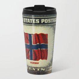 Flag of Norway Travel Mug