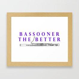 Bassoon Framed Art Print