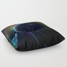 You Run to Catch Up With the Sun (But It's Sinking) Floor Pillow