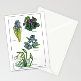 Few of my favourite flowers Stationery Cards