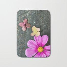 Flowers of Summer Bath Mat