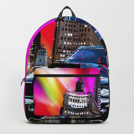 colorful muscle Backpack