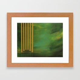 Sunlight through Leaves Framed Art Print