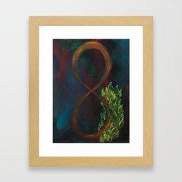 inifinity Framed Art Print