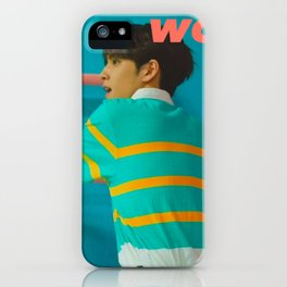 Artwork K-Pop DAY6 Wonpil iPhone Case