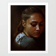 Raven, The 100 Art Print