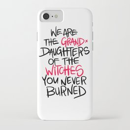Grand Witches iPhone Case