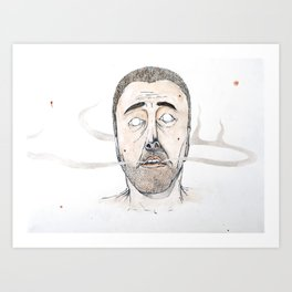 Sickly Fellow Art Print