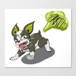 Good Dog, Best Stand User Canvas Print