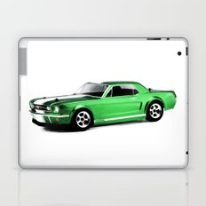 Ford Mustang Coupe (1966) - Painting Style Laptop & iPad Skin