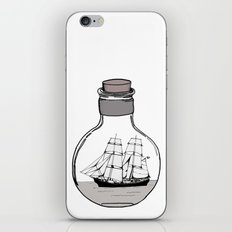 The ship in the bulb iPhone & iPod Skin