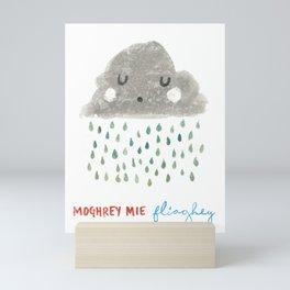 Moghrey Mie Fliaghey Mini Art Print