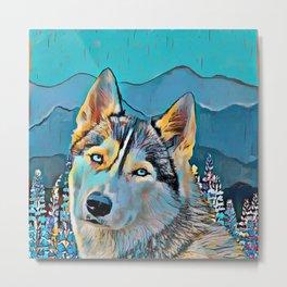 Mountain Dog  Metal Print
