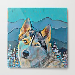 Mountain Dog  Metal Print