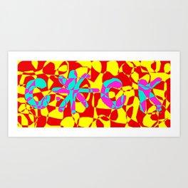 COCKSTAR psichedelic 4 Art Print