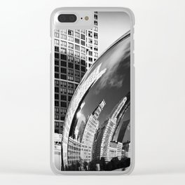 The Bean Reflections Clear iPhone Case