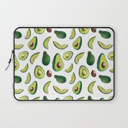 Avocado Pattern Laptop Sleeve