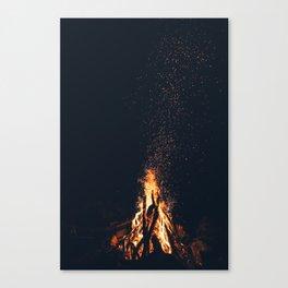 bonfire #society6 #buyart #decor Canvas Print
