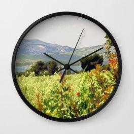 Italy: Matera - Riserva di San Giuliano Wall Clock