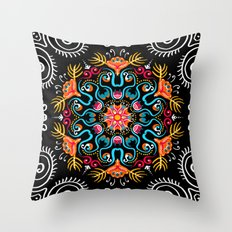 Party On The Patio Throw Pillow